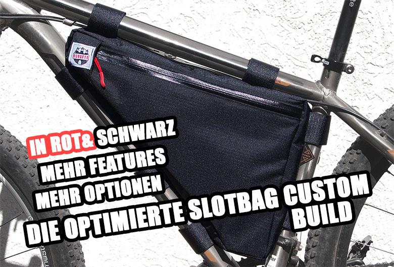 Fahrradrahmentasche - SLOTBAG Custom Build