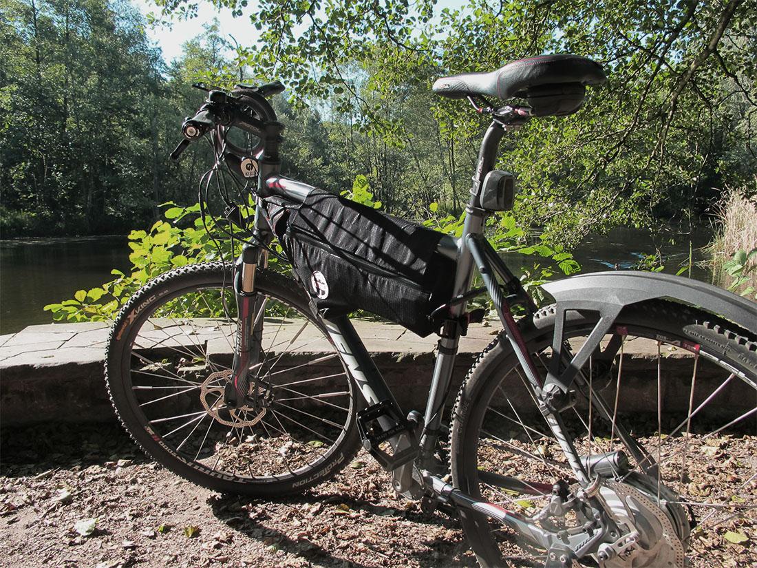 Fahrradrahmentasche Framebag bicycle Stevens SX