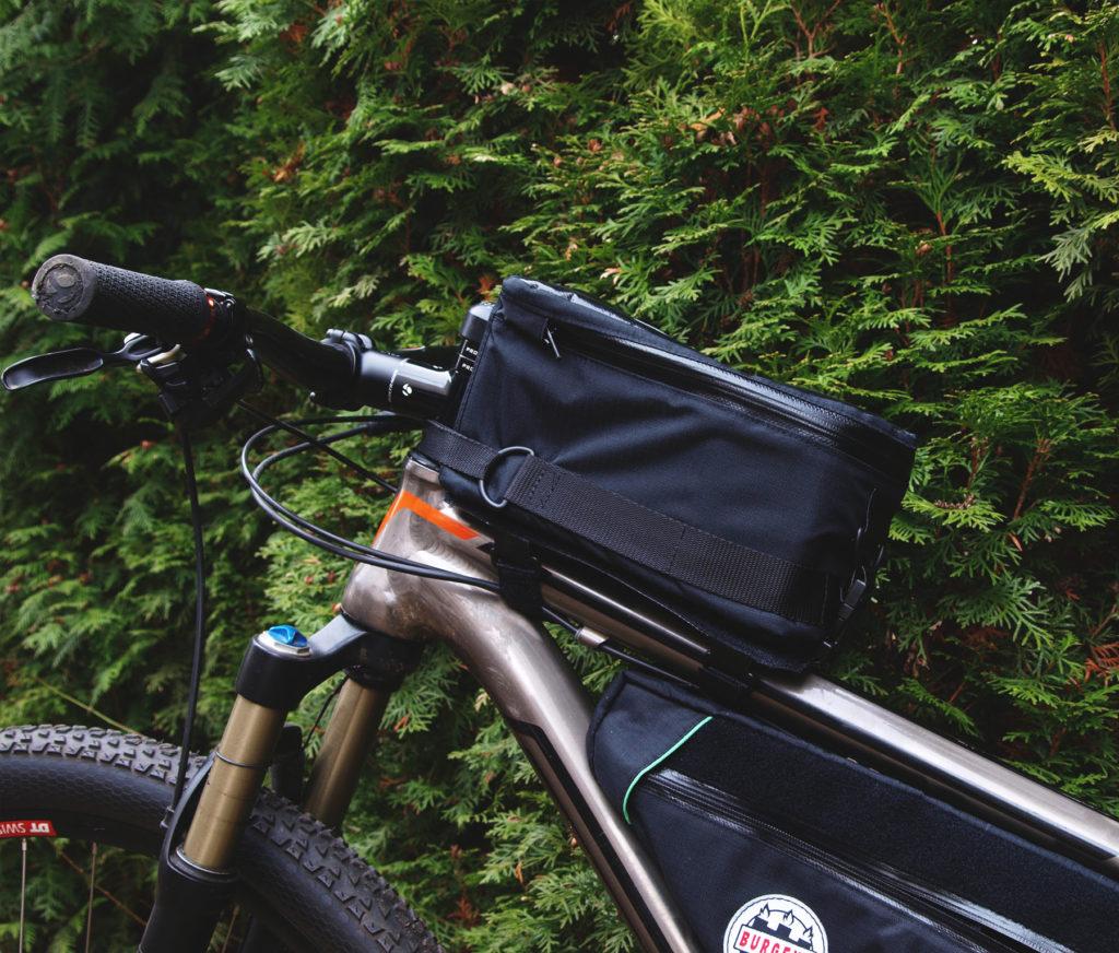 big toptube bag, große fahrrad oberrohrtasche dslr